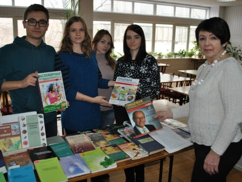 Практичні заняття в читальному залі бібліотеки студентів гр. 4-ХДК-11