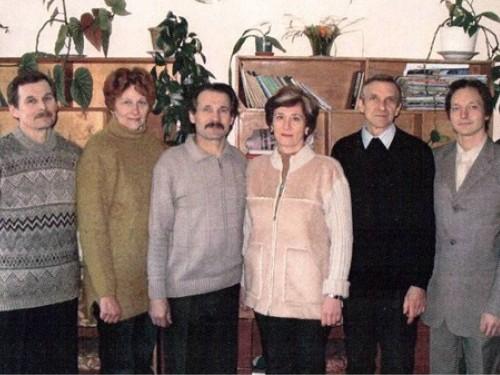 Колектив кафедри, 2000 р.