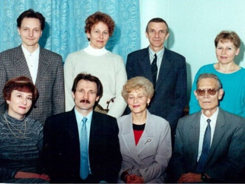 Колектив кафедри, 1998 р.