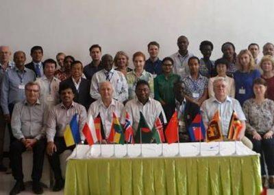 Зустріч учасників проектів Water Harmony і WaSo Asia&Africa