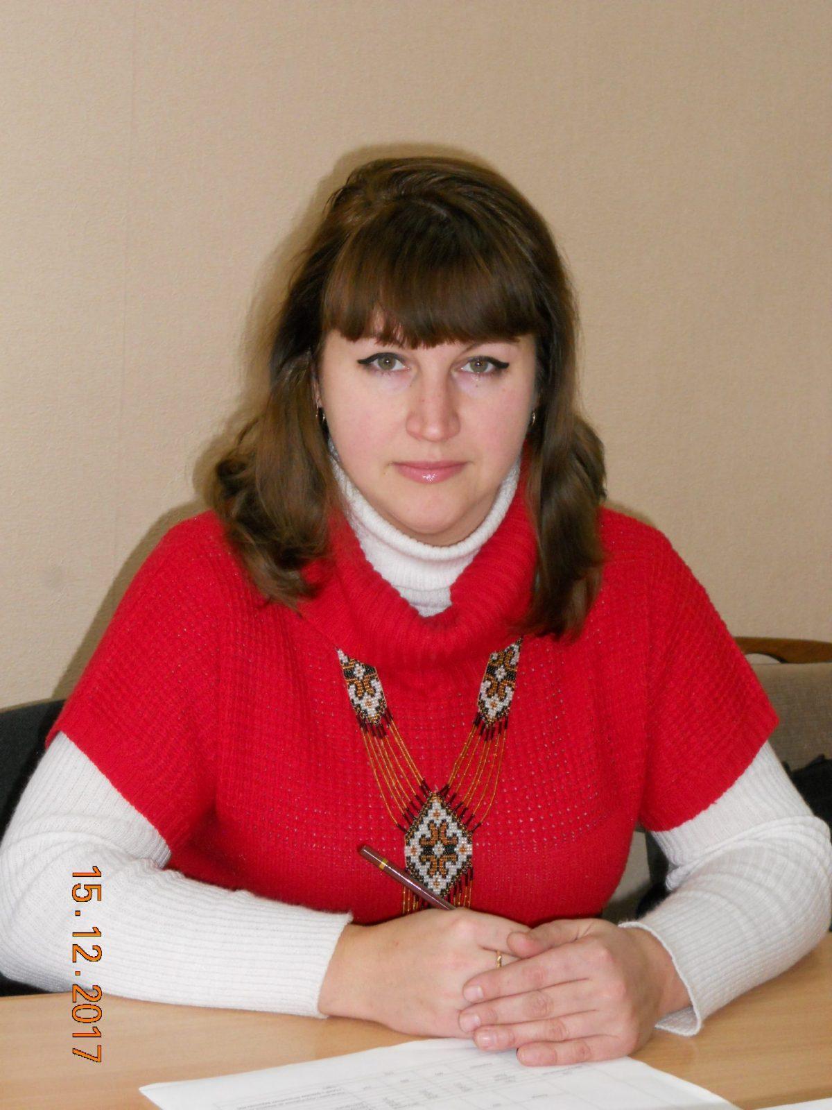 Olena Serhiivna Khomenko