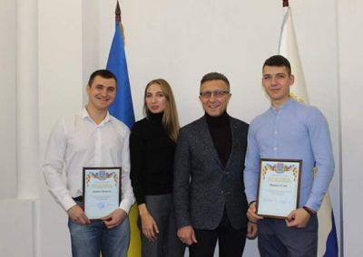Нагородження активних учасників комітету у справах молоді