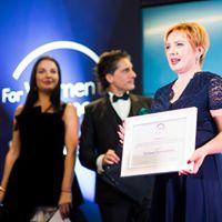 Фіналістка Першої української премії «Для жінок у науці – 2018»