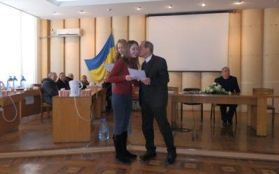 Вручення дипломів магістра на факультеті ТВМС