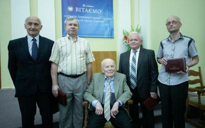 Вручення дипломів лауреатам Державної премії України в галузі науки і техніки 2018 року