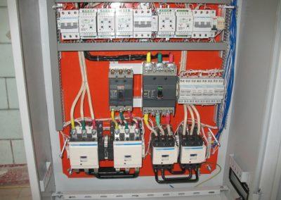 Блок автоматичного вмикання резерву живлення системи електропостачання