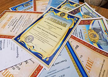 Congratulations to the students-winners of the All-Ukrainian competition of student research papers in the fields of knowledge and specialties in 2019/2020 academic year.