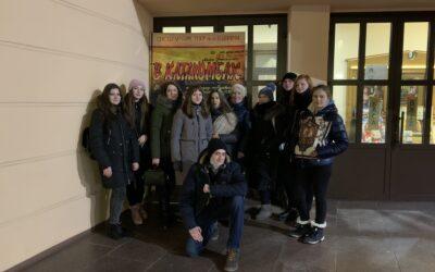 Студенти факультету хімічніх технологій та екології відвідали театр імені Т.Г. Шевченка.