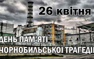 До 35-річчя Чорнобильської трагедії