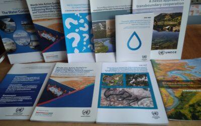 Водні публікації від Європейської економічної комісії Організації Об'єднаних Націй