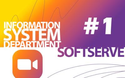 Співпраця кафедри ІС із ІТ-компанією SoftServe: обговорення із стекхолдером змісту освітніх компонент